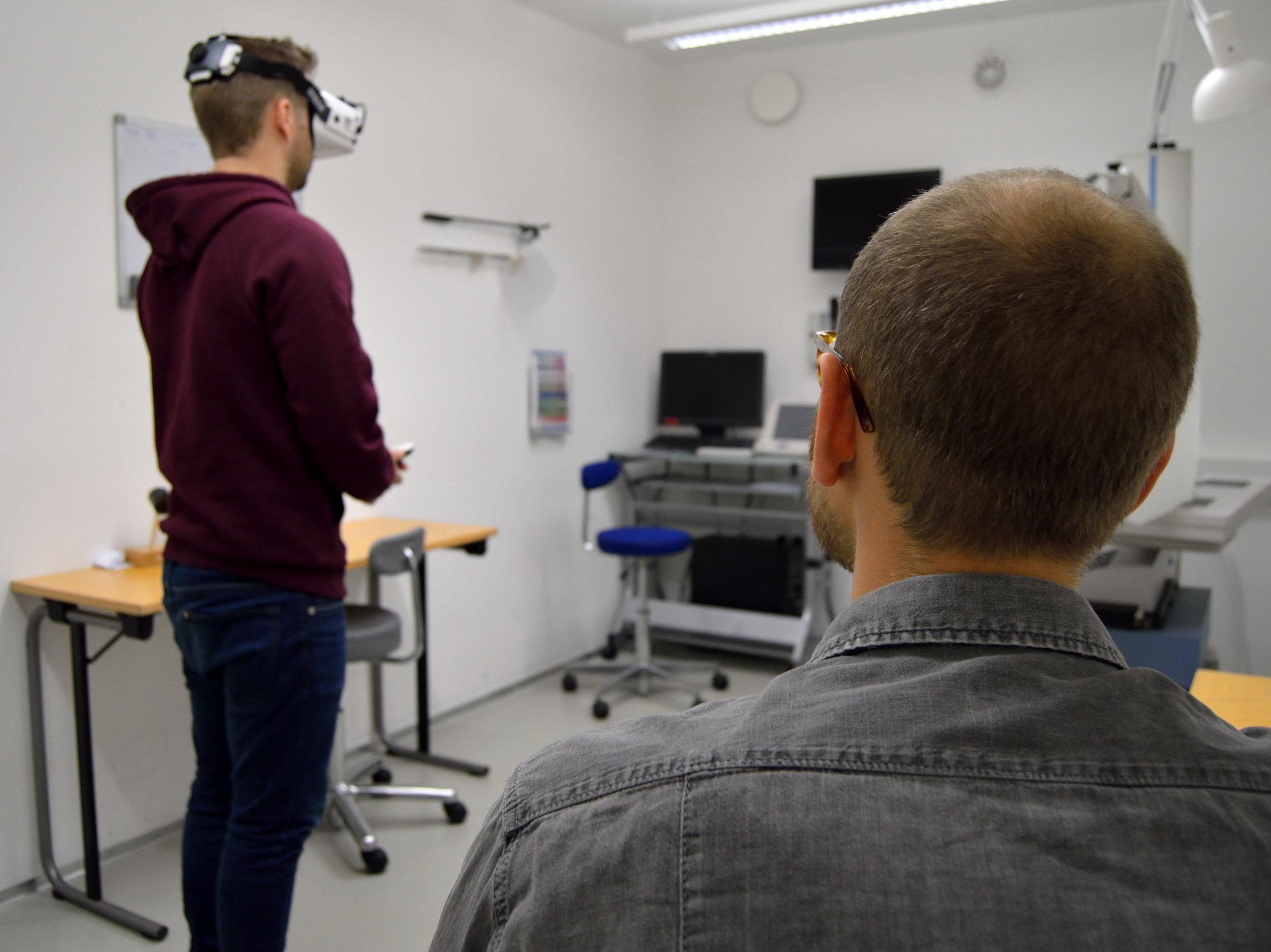 Studerende ved KEA afprøver Ballast AR