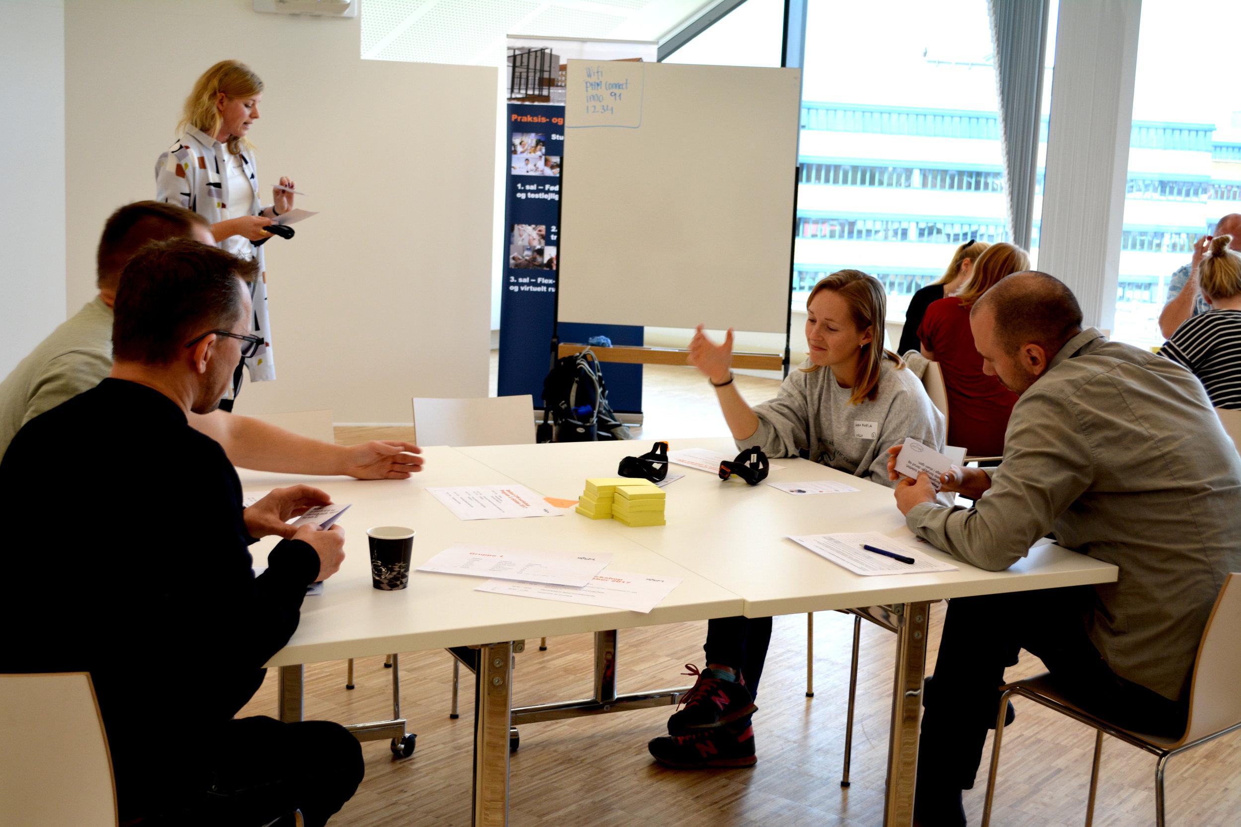 Workshop afholdes med Metropol studerende