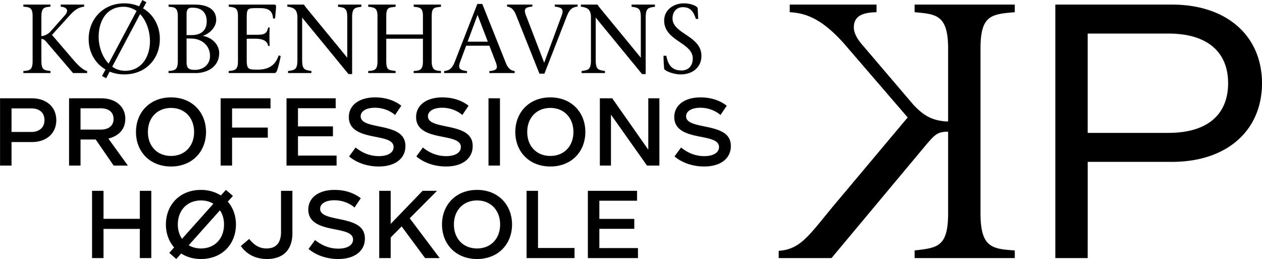 Logo for Københavnsprofessionshøjskole