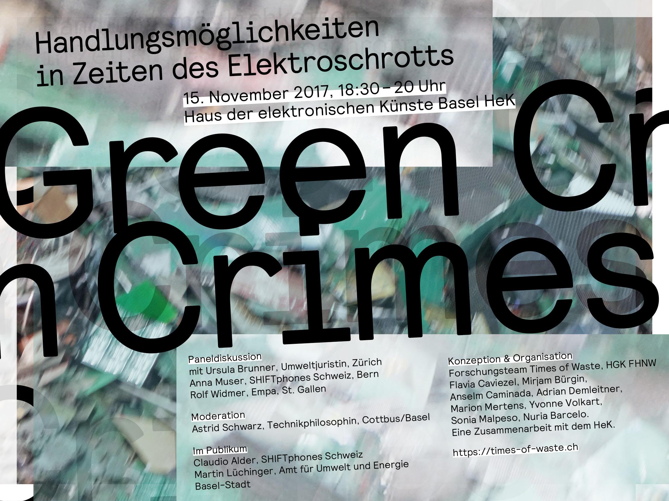 Green Crimes HeK Basel