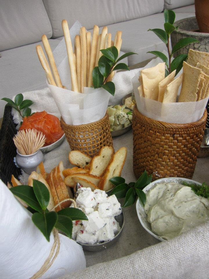 The Bridal Mezze Picnic Basket