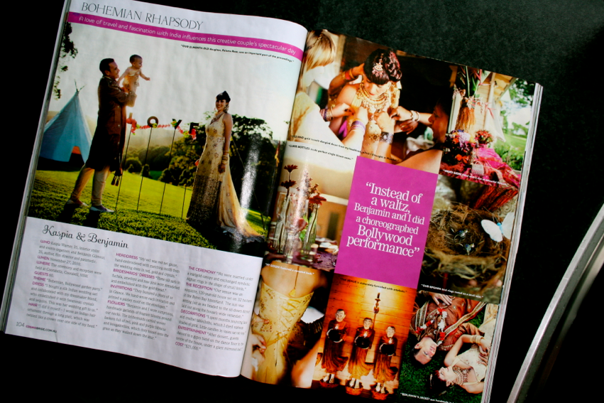 The Article in Cosmo Bride