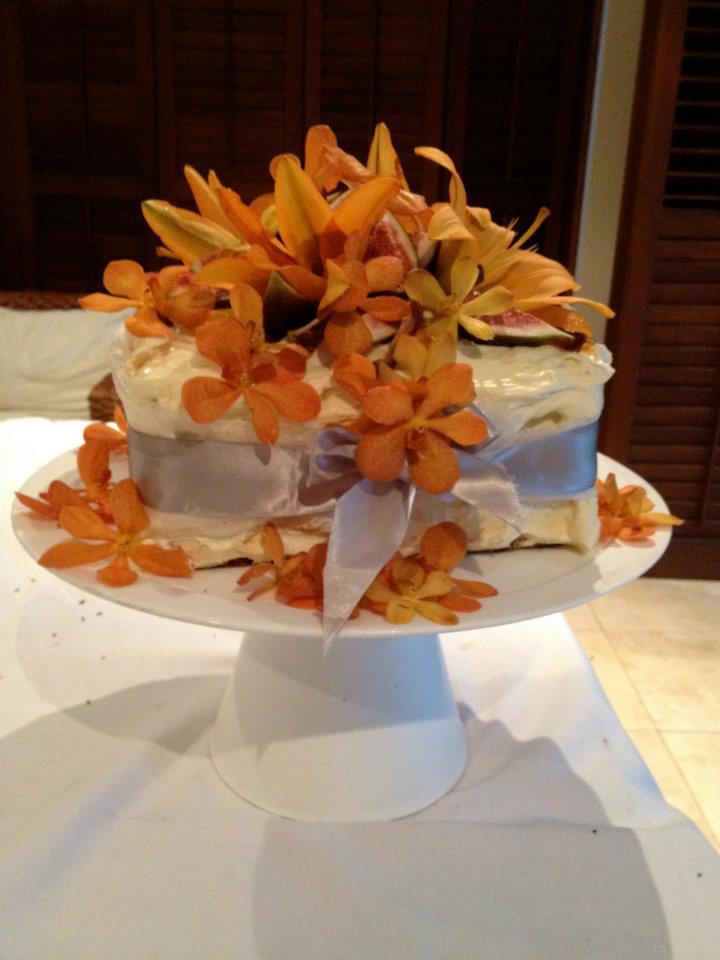 The Sticky Date Wedding Cake