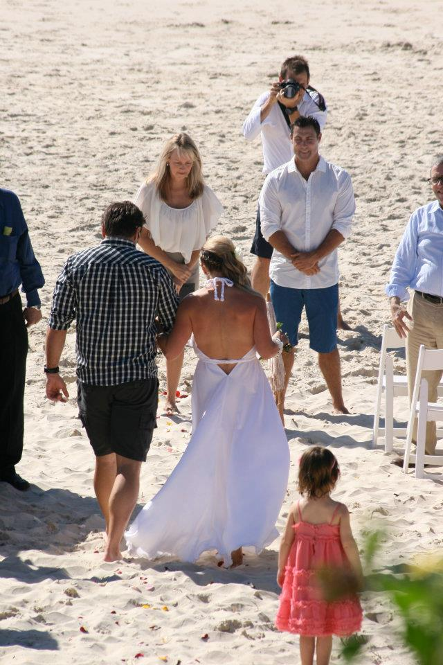 Perfect Day for a Beach Wedding