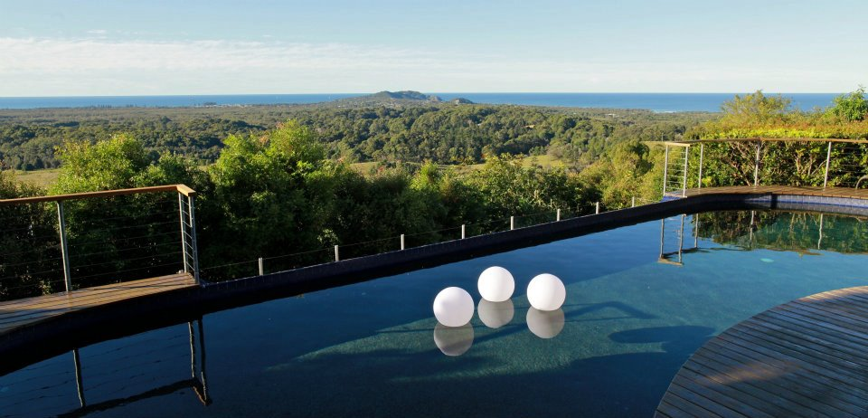 The Stunning View over Byron Bay