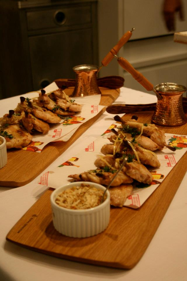 Lemon Thyme Chicken, Inside Out Stuffing, Homestyle Gravy