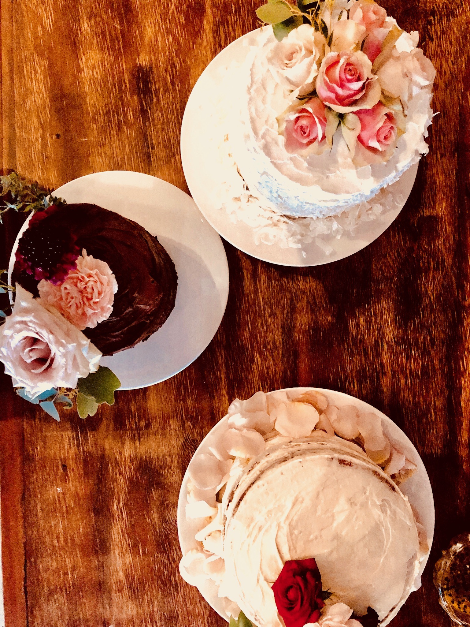 Wedding cakes x 3 from above.jpg
