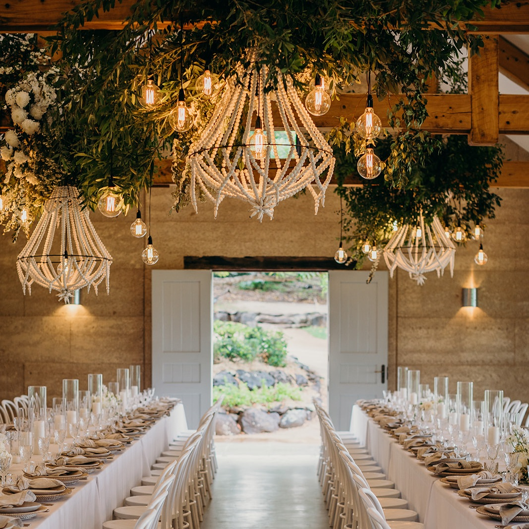 EARTHHOUSE    Address : Byron Hinterland   Standing : 120   Reception : On-site building   Seated : 120   Ceremony : At Fig Tree   Catering:  Catering   Accommodation : Sleeps 10   Alcohol : BYO   Venue hir e: $9250   Curfew : 10:30PM   Music : PA Equipment Required   Parking : 12 wedding party/guests/suppliers   Transport : All other guests are to arrive /depart via pre-booked bus.    Power : N/A   Rubbish Removal : Required   Toilets : Provided   Viewing : By appointment only