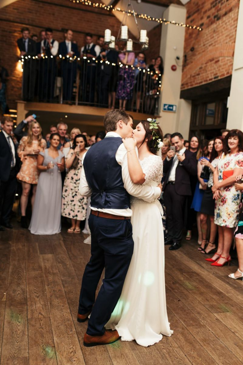 Sian and Frazer Dodmoor House Wedding Band
