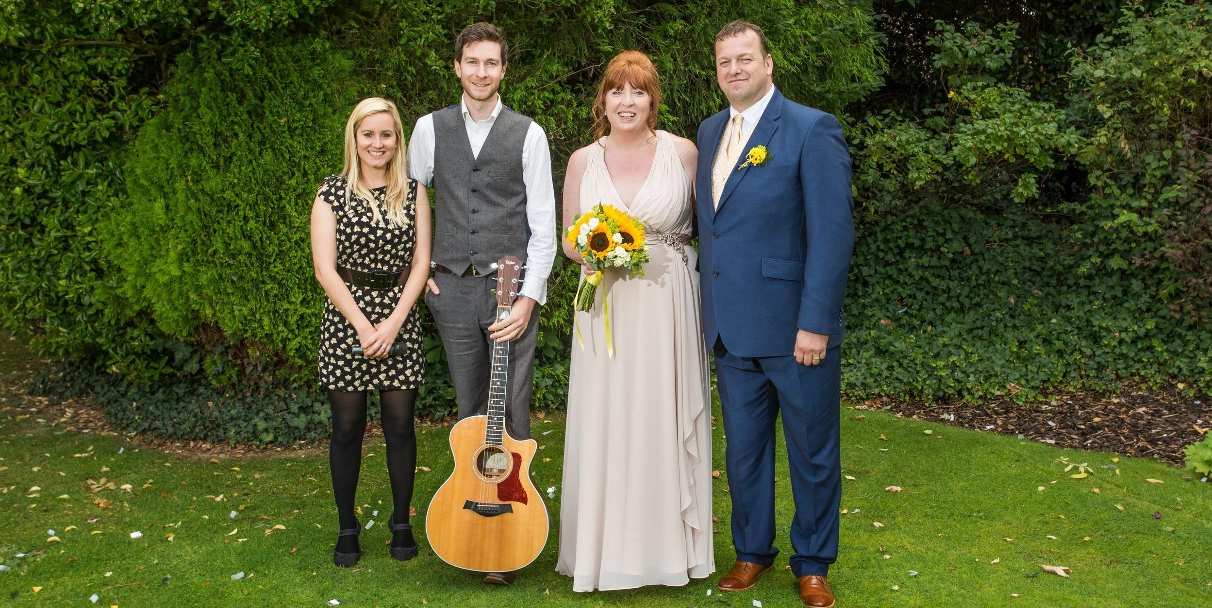 Taylormade Acoustic Duo Wedding Alveston Manor