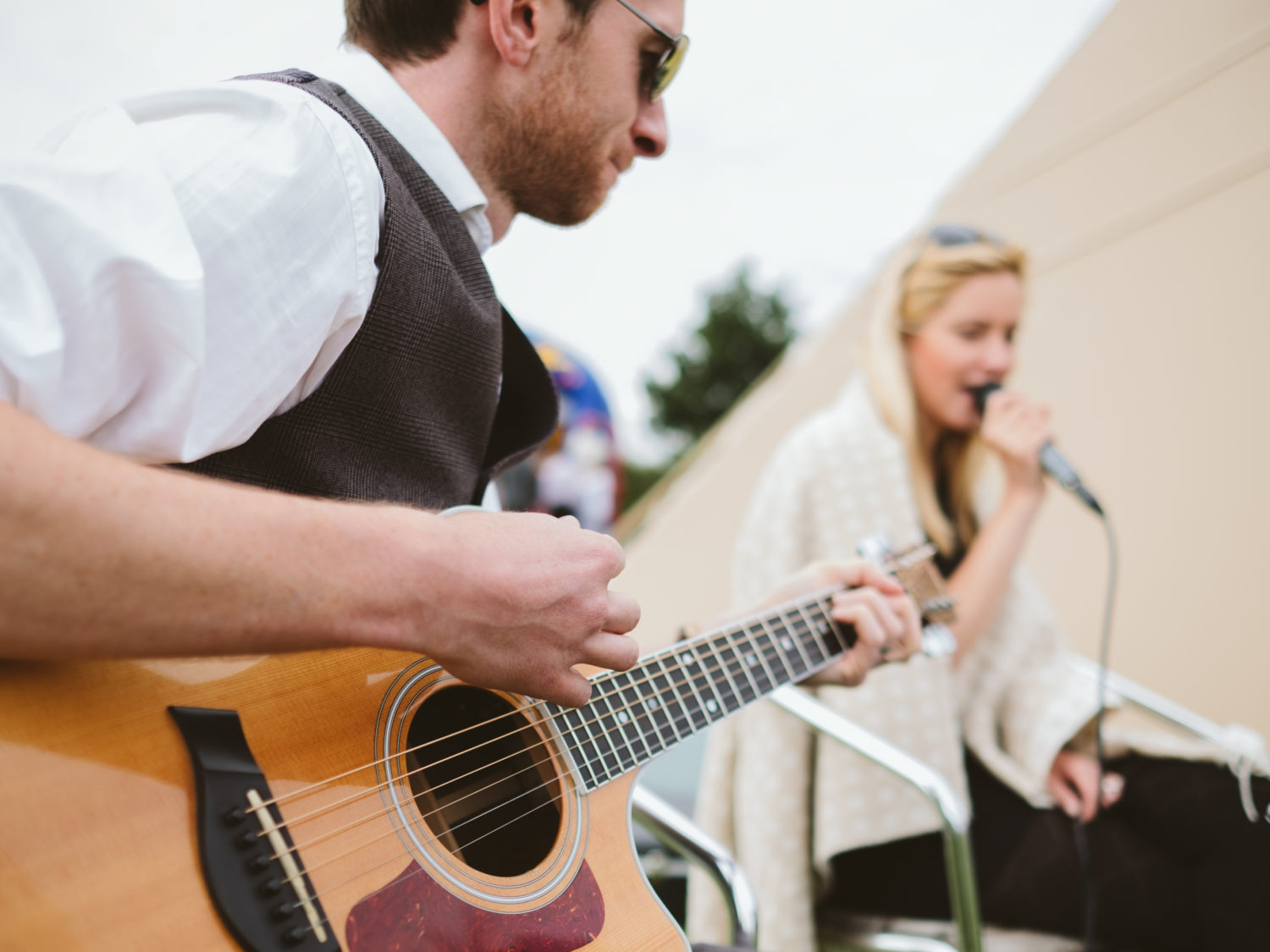 Taylormade Acoustic Duo Wedding Oxfordshire