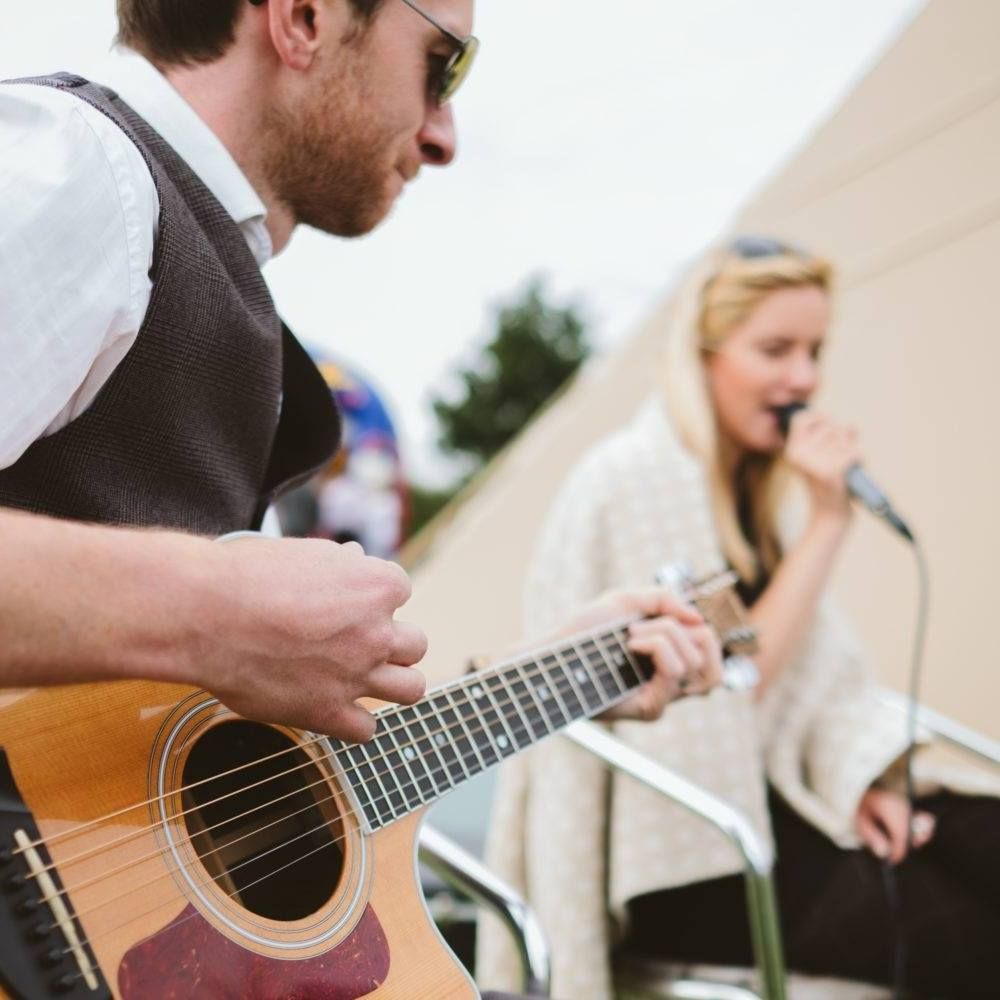 Taylormade Acoustic Duo Birthday Party Band Music Buckinghamshire
