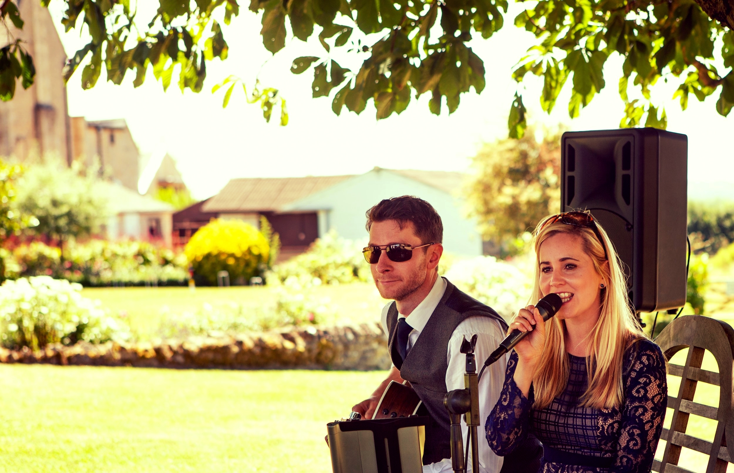 Taylormade Acoustic Duo Wedding Band Hyde House Wedding Ceremony Stowe On The Wold