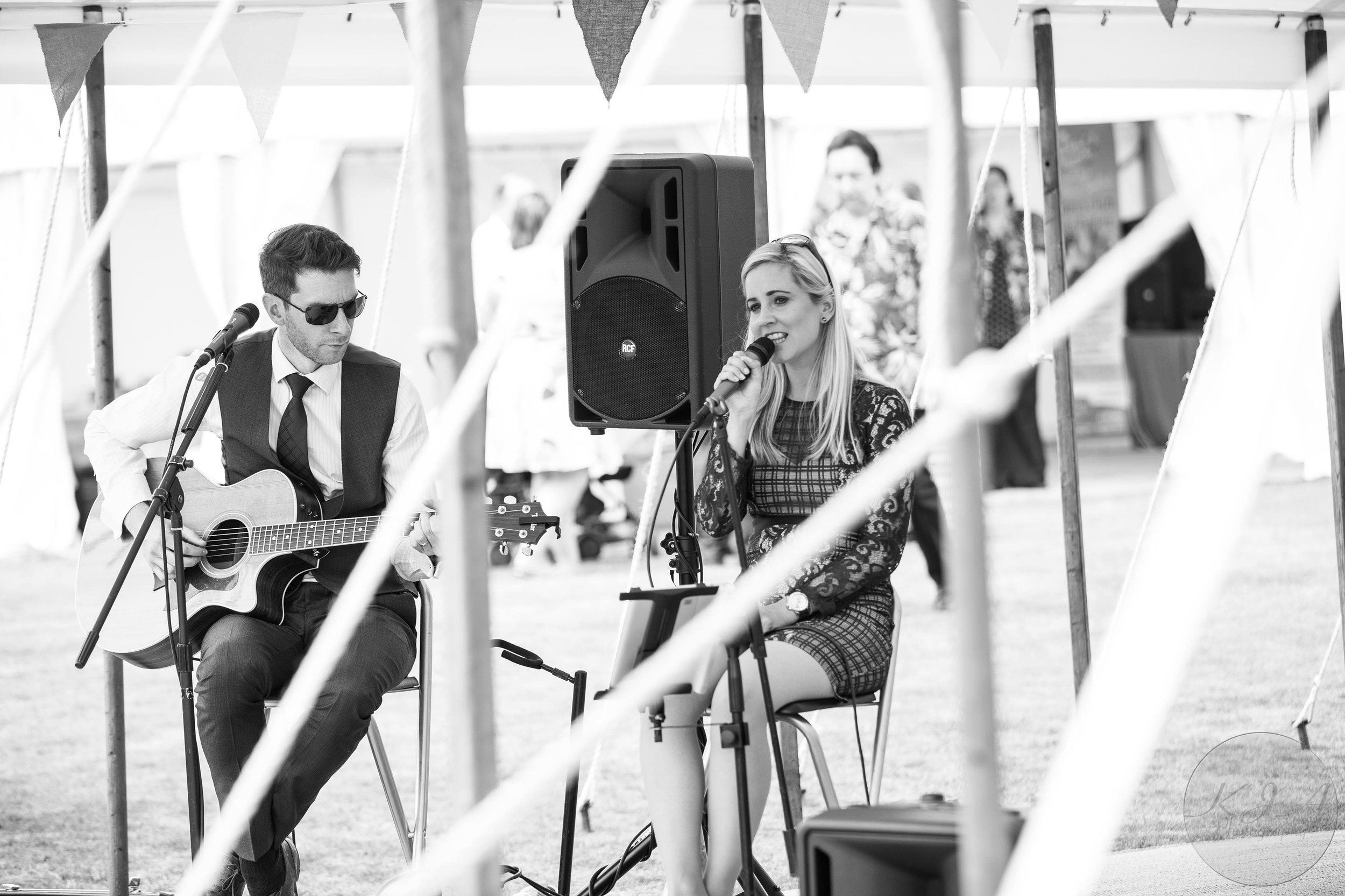 Taylormade Acoustic Duo Wood Farm Everdon Wedding Band