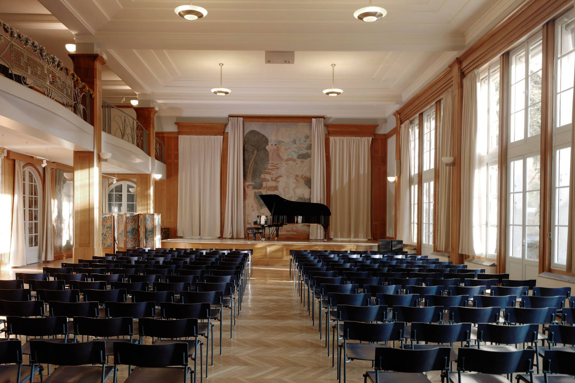 "The Grand Salon at the Foundation of the United States (Paris, France) where ""Chopin: A letter through the Parisian Years"" was premiered on April 1, 2016"