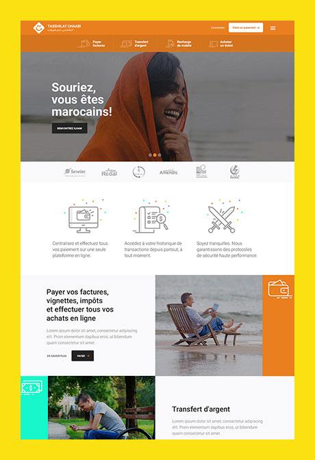 Tasshilat Morocco  - concept for a launch campaign.