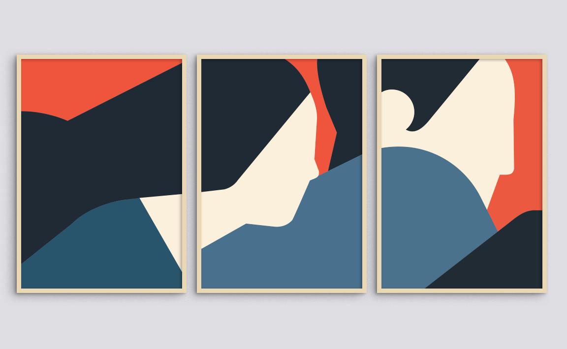 ESCAPE (private collection). Original artwork Jérôme Masi.