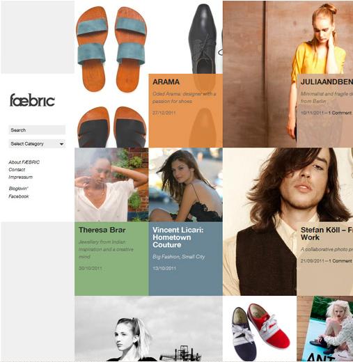 Faebric  website.