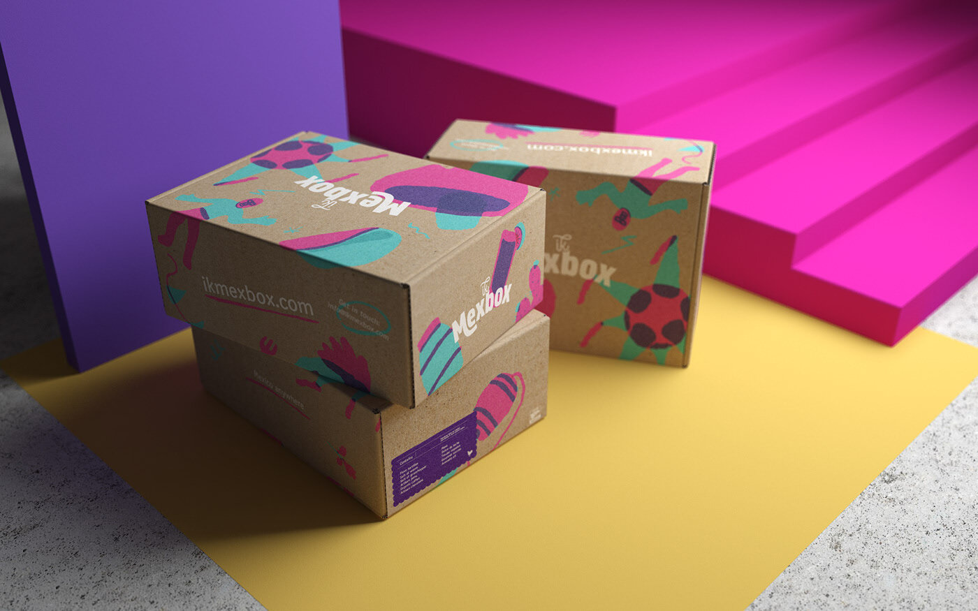 Ik Mexbox project  by Menta Picante.