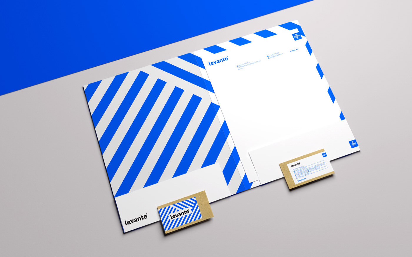Levante project  by Menta Picante. Featured in the Brand Cards.