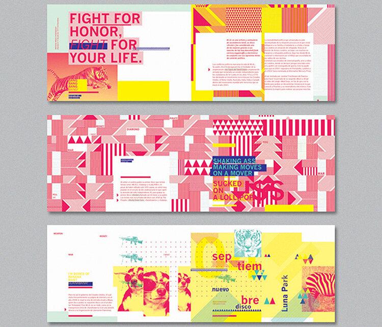 Brochure design by Dolores Oliver.