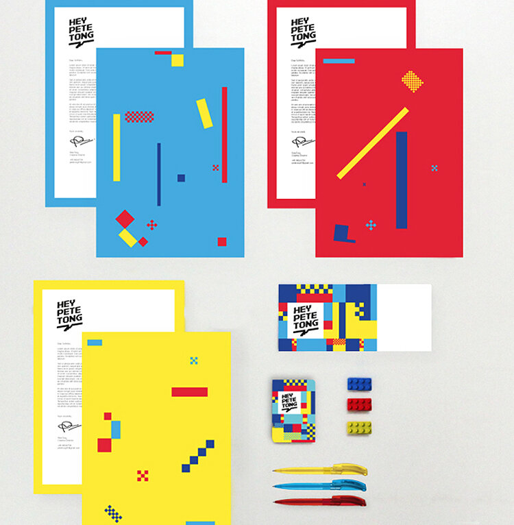 Stationery by Pete Tong.