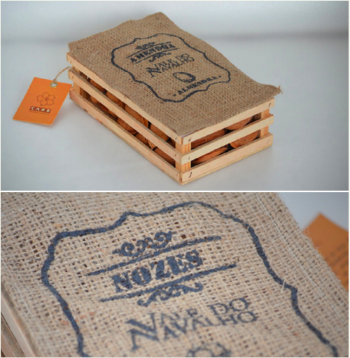 Gourmet nuts by  Márica Lopes  (Portugal).