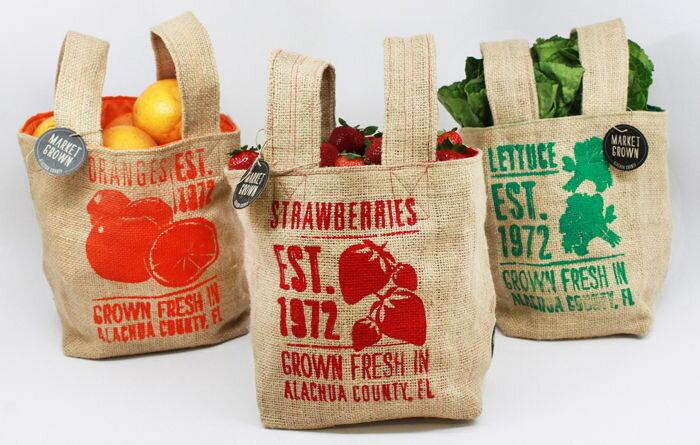 Burlap Bags by  Catalina Rozo & Melissa Clinard .
