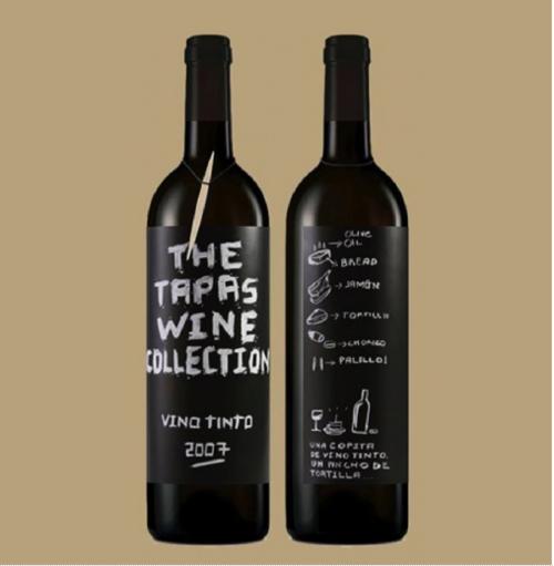 The Tapas Wine Collection by  Eduardo del Fraile  (Spain).