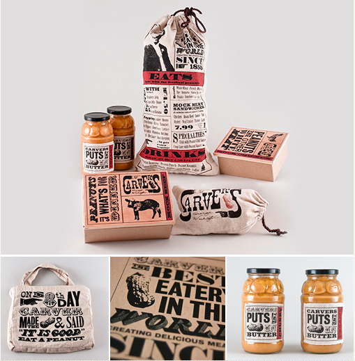 Brand identity for a Brooklyn based restaurant & bar specialized in chicken & waffles. Design by  No Entry Design  (USA).