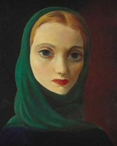 Portrait of a Woman,  Moise Kisling