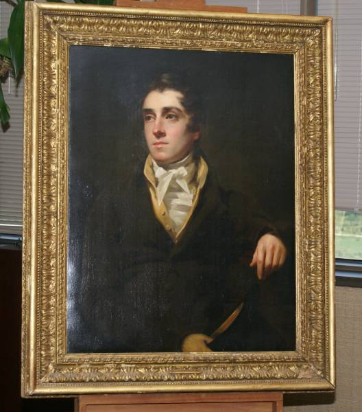 Sir Henry Raeburn Painting — Photo courtesy: De Andre Moore with DM VIDEO PRODUCTION