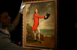 Portrait of Major George Maule by Johann Zoffany