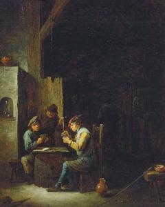 David Teniers II,  The Card Players