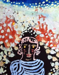 The Paul Klee painting  Portrait in the Garden  was stolen in 1989