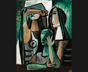 Sotheby's New York, Latin American Art, May 20 & 30, 2008. Lot 255, Mario Carreno, Tres Mujeres. Est. $25/35,000. Sold for: $46,000. © Sotheby's Ltd.