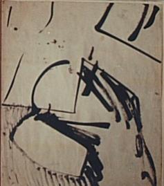 Franz Kline (1910-1962),  Untitled  (1947)
