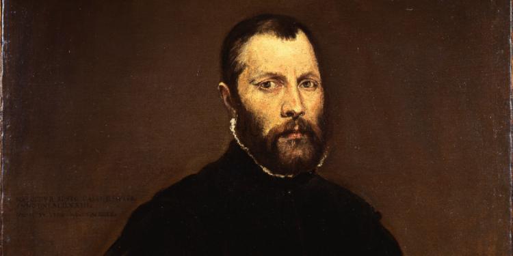 Portrait of a Gentleman , by El Greco.