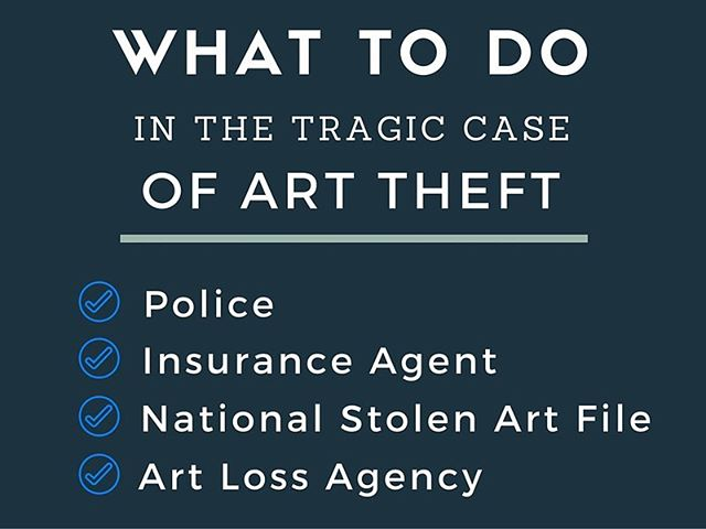 What to Do in the Tragic Case of Art Theft?  Step 3: Register the stolen artwork on Artive.  Artive manages the world's most technologically advanced database with integrated image recognition and over 500 fields of searchable data. Documentation is crucial; with its capability and capacity to record not only images but also all types of other relevant file types, the database is also used as a secure, off-site archive.  Step 4: Approach Art Recovery International with your case. ARI is the only organisation of its kind specialising in the location and recovery of stolen and looted works of art. Our clients are theft victims, insurance companies, art dealers, lawyers, and parties in need of resolving complex title disputes over fine art.  We carefully develop strategies in accordance with our client's needs while maintaining strict confidentiality throughout the recovery or dispute resolution process.  At all times, we adhere to a rigorous code of ethics and professional responsibility. Over the years, we have recovered or resolved title disputes involving an unprecedented $500 million dollars worth of fine art, antiques, collectibles and jewellery.  We are a free and confidential service to law enforcement and donate our services to churches,  non-profit cultural institutions, governments, and artists in need.  #art #fineart #arttheft #artcrime #litigation #artlaw #artinsurance #missingart #contactus #stolenart #nazplunder #wanttospeaktous #wecanhelp #cases #legal #lawyer