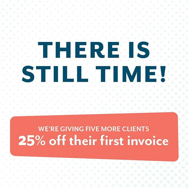 We've still got a few openings left in our New Client Special! ⠀ ⠀ ✨In case you missed it, we're giving TEN new clients 25% off their first invoice. That's right! Any new client gets 25% off any package deal. ✨⠀ ⠀ If you know a business or nonprofit that needs a new logo or a new website OR social media help, tag them and share the love! ⠀ ⠀ See our full menu of package options on our website!⠀ _________________________________________⠀ ⠀ #thatlunchbox  #lunchboxcreative #graphicdesign #illustrator #design #branddesign #logo #designerforhire #yeahthatgreenville #andersonismytown #giveaways #discounts #newclients #happyfriday #friyay #webdesign