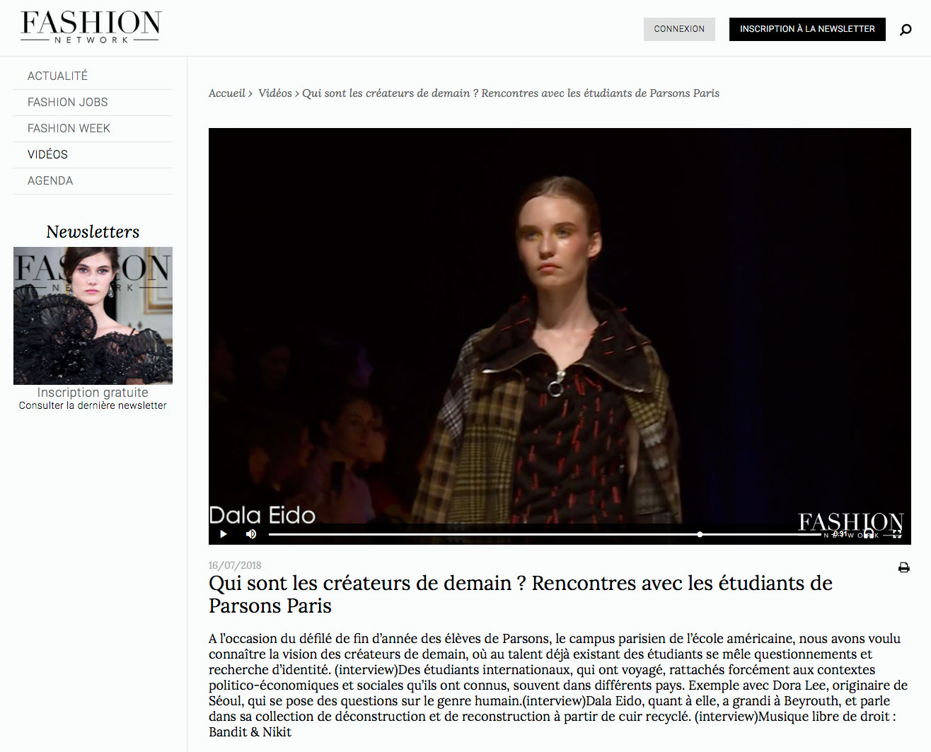 - Fashion Network