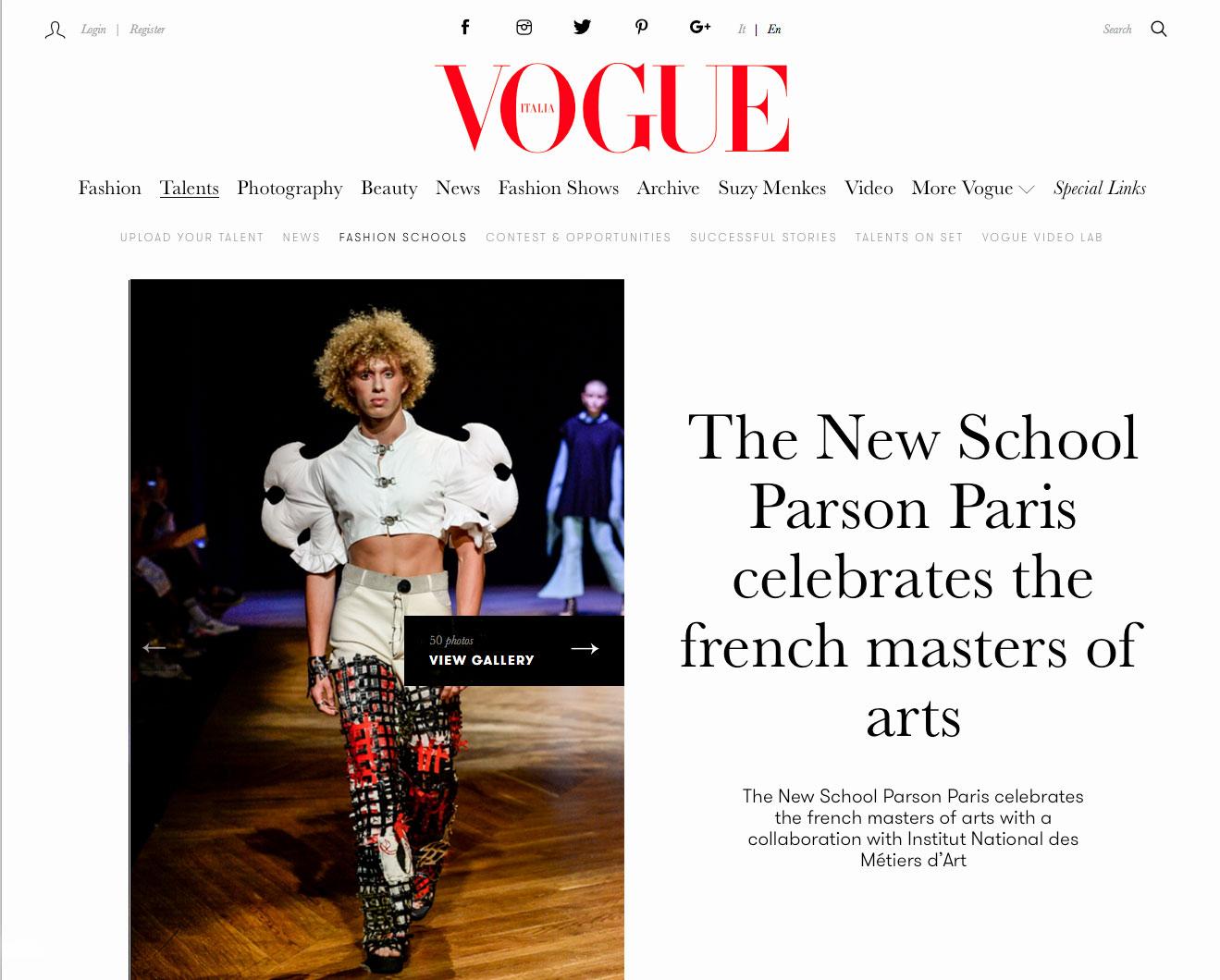 - Vogue Italia