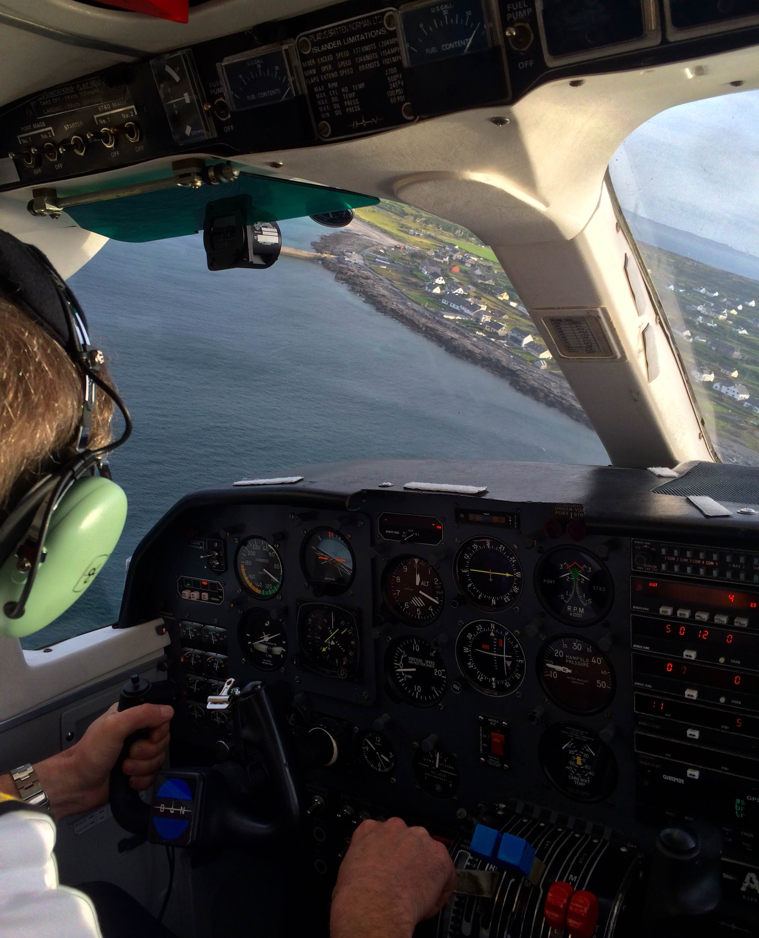 Flying to Inis Oirr with Aer Arann
