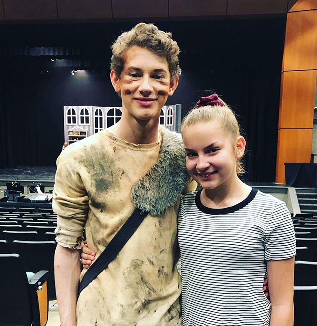 So proud of @_l.scroggs_  and @grissomtheatre This was the best show I've seen in Huntsville not done by professionals, and I'm a total #theatersnob #welldone #peterpan