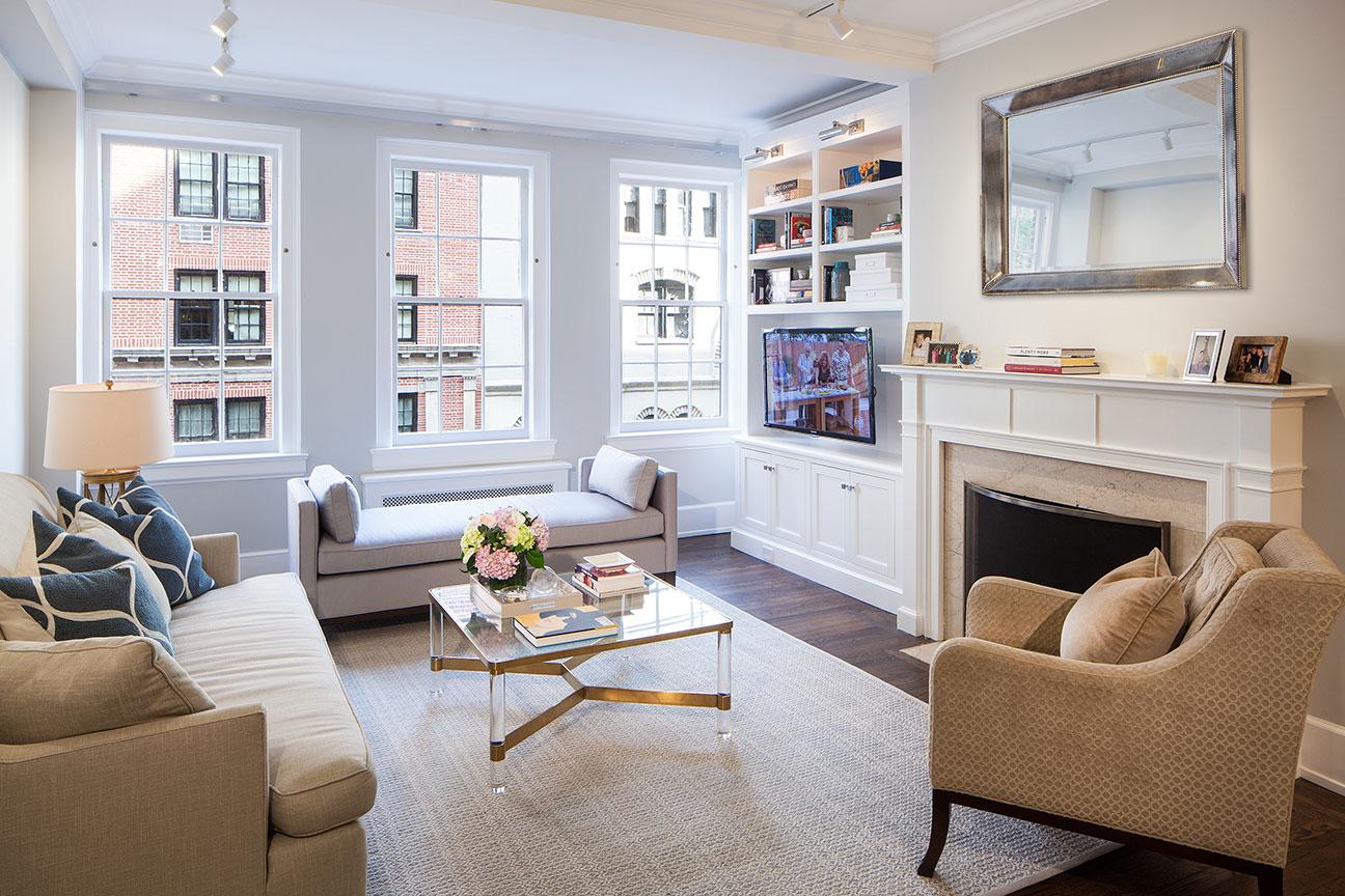 Upper East Side Apartment - Living Room