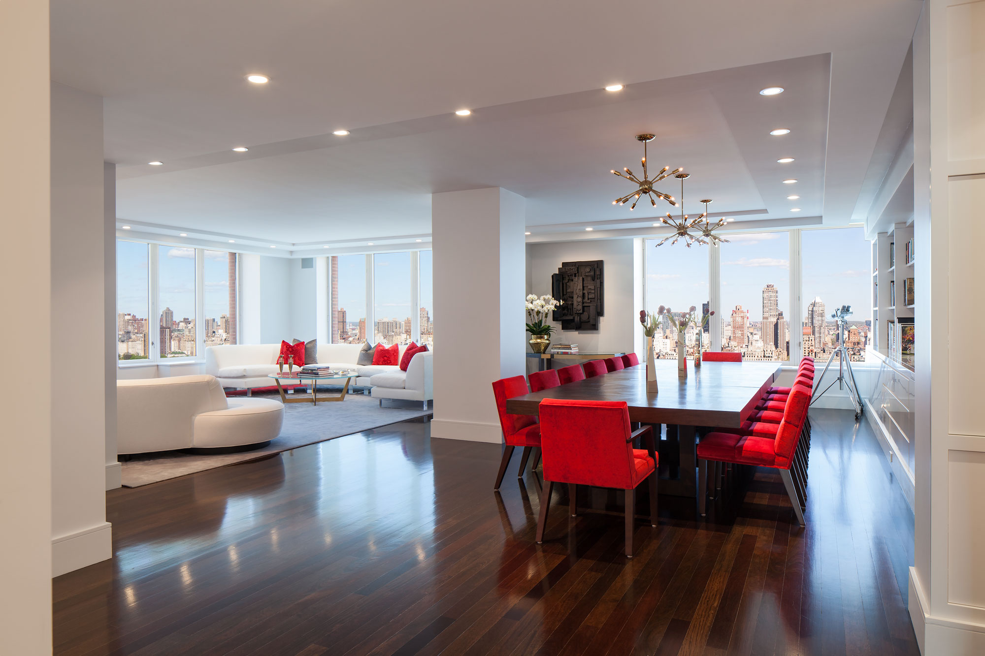 Central Park West Living Dining Room