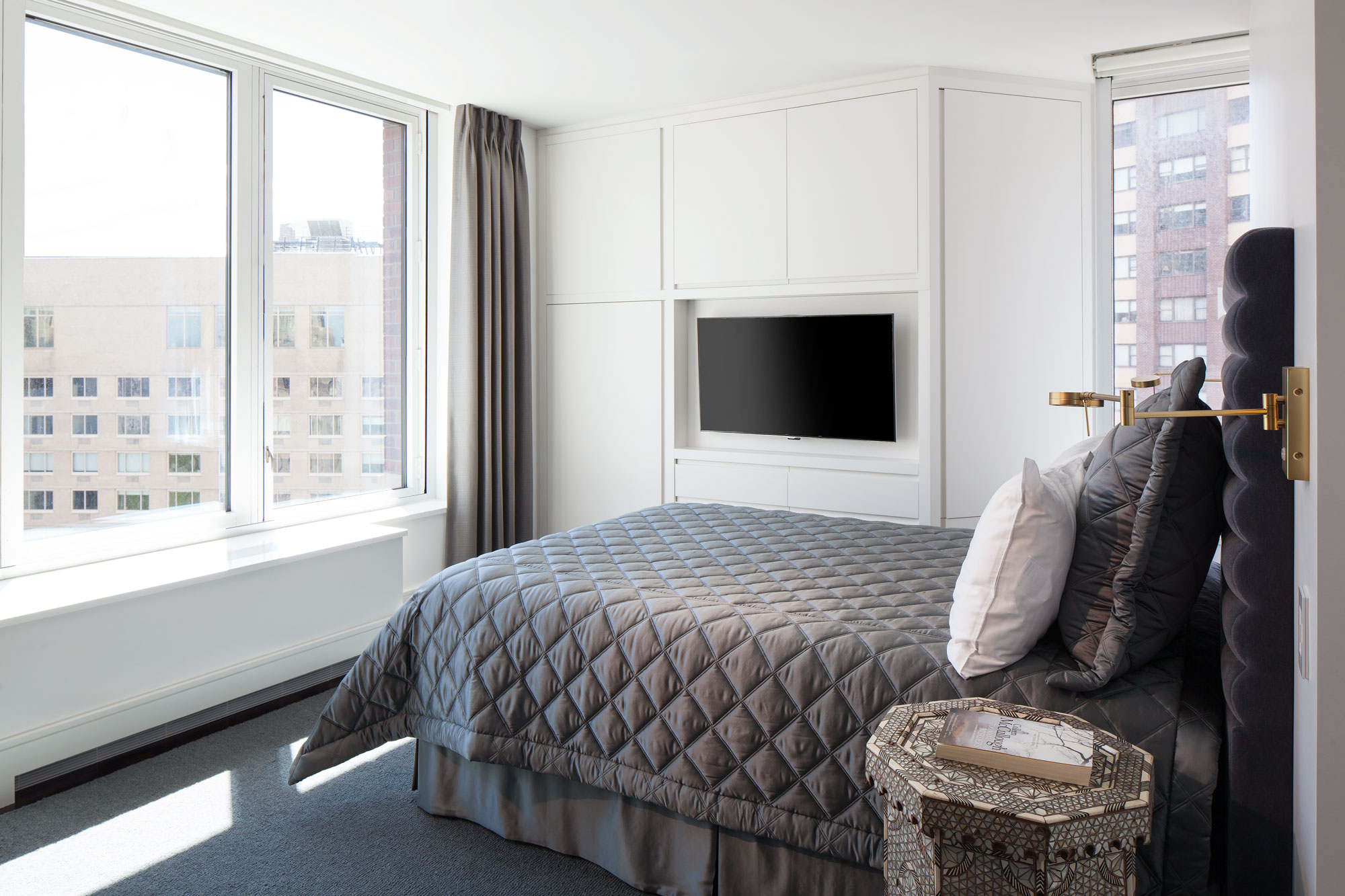Central Park West Guest Bedroom