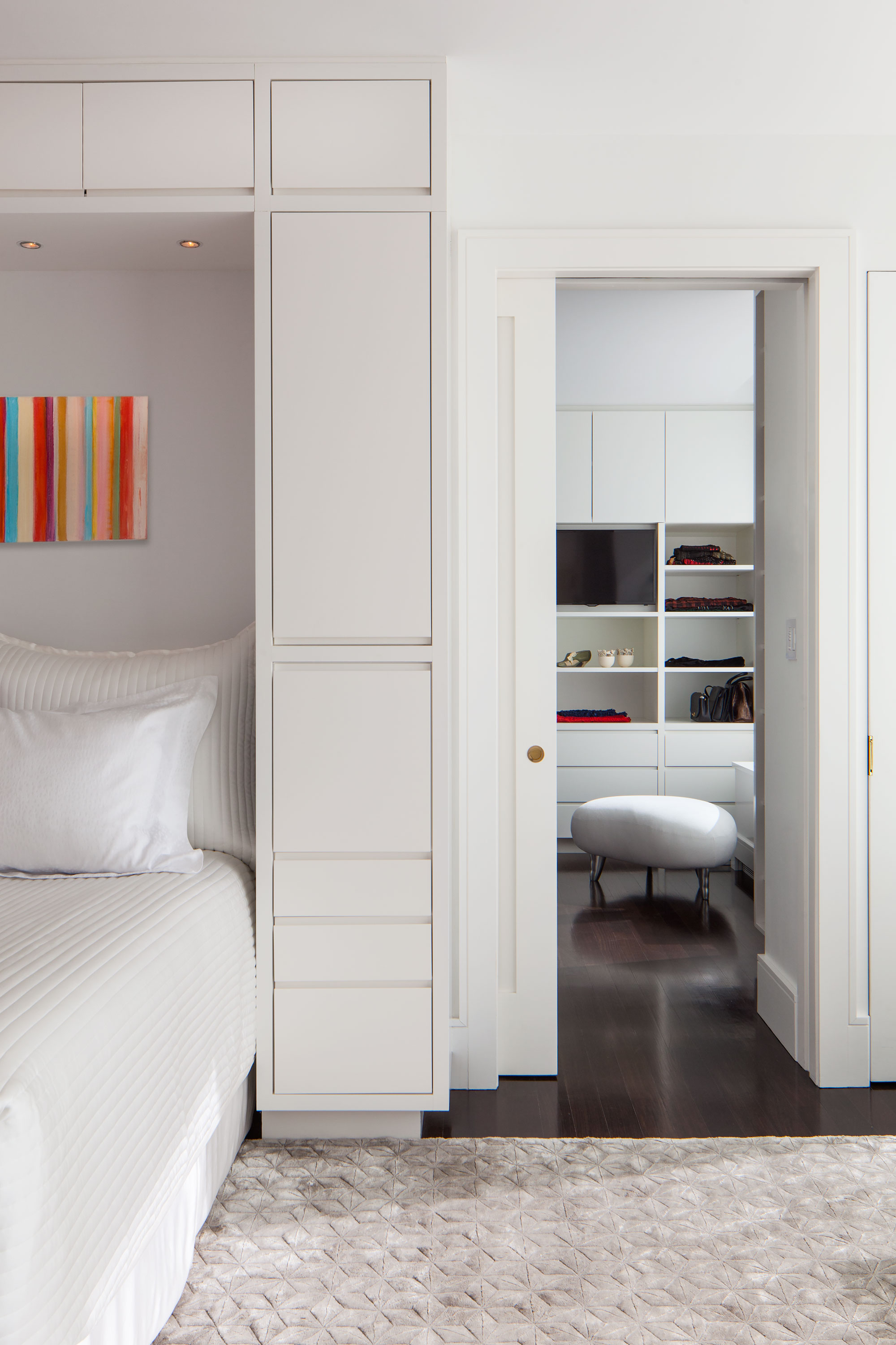 Central Park West Master Bedroom Dressing Room