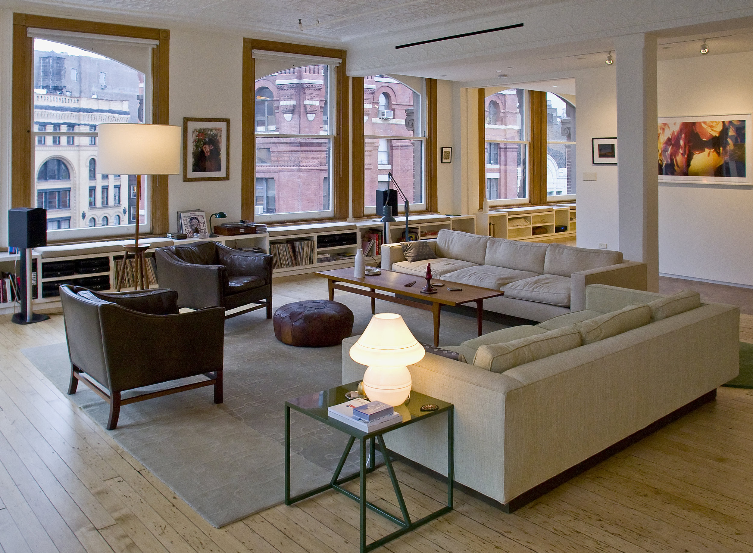 Tribeca Loft - Living Room
