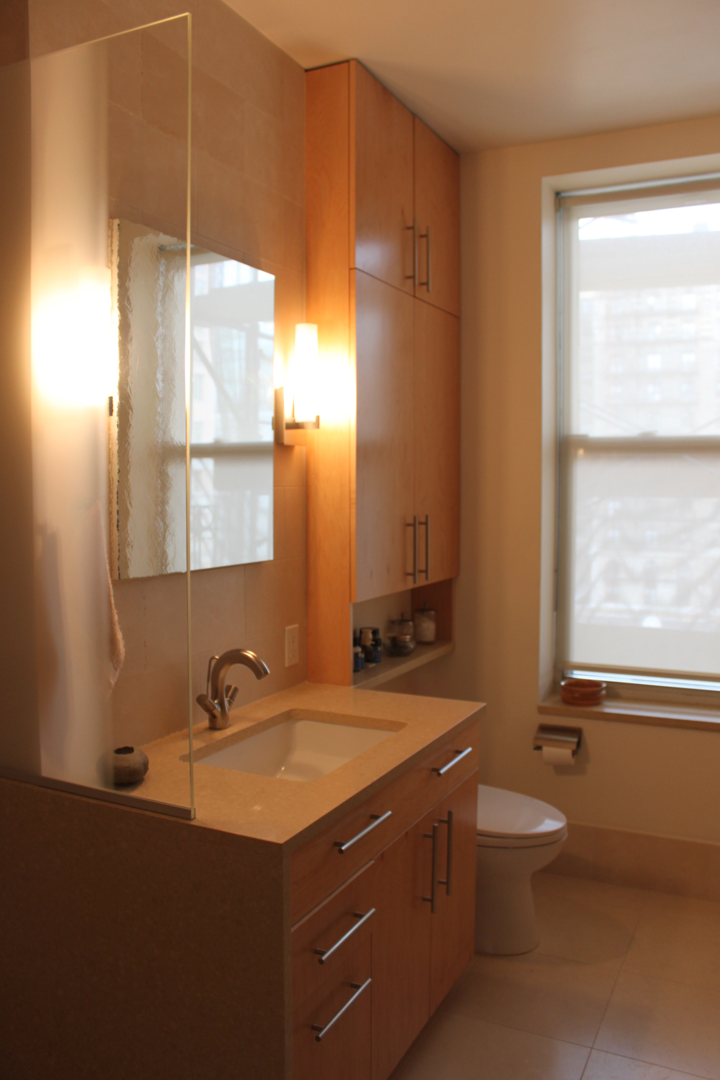 Upper West Side Apartment - Bathroom Sink